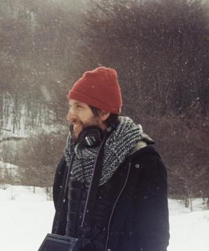 Sebastiaěn Schjaer - Rodaje La omisioěn